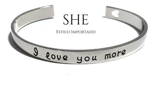 brazalete * i love you more *