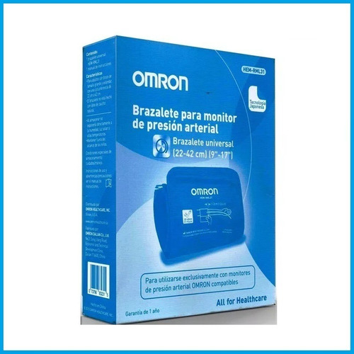 brazalete para tensiometro omron rml-31 22a42cm 7120/21/30