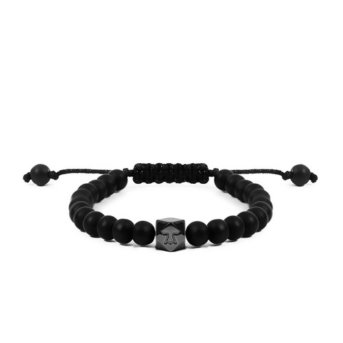 brazalete paúl negro  ajustable