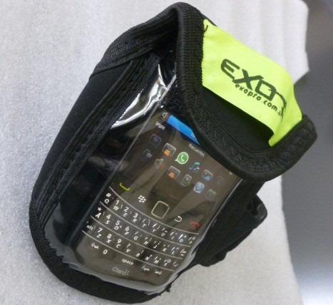 brazalete porta celular - objetos - cristal exo