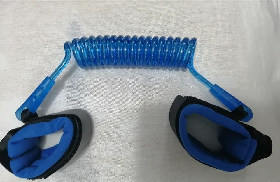 Pulsera Anti Pérdida Para Bebés Niños Seguridad Infantil Color Azul Borje
