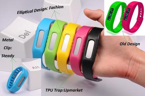 brazalete pulsera inteligente reloj podometro bluetooh y mas