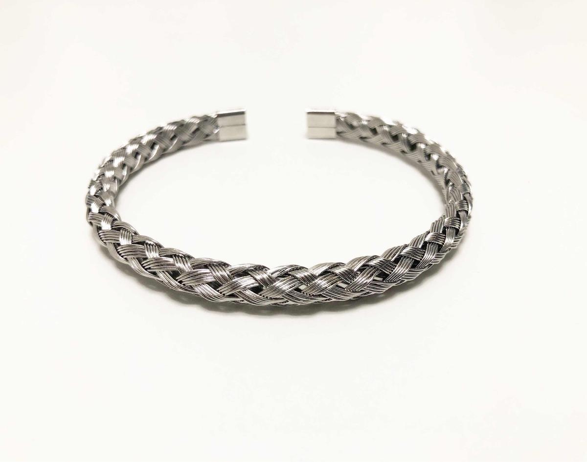 f22931a4ddde brazalete pulsera media esclava hombre - acero quirúrgico. Cargando zoom.