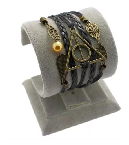 brazalete pulsera potter reliquias muerte delivery gratis