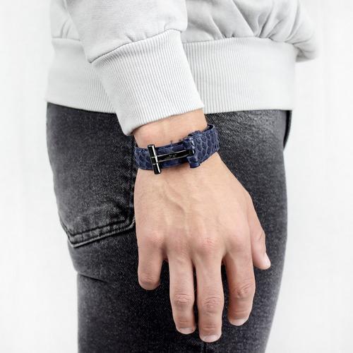 brazalete tiago exótico azul texo-nn-pit-3 ajustable