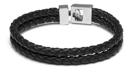 brazalete tokio niquel pulido negro toksc-np-sc-1