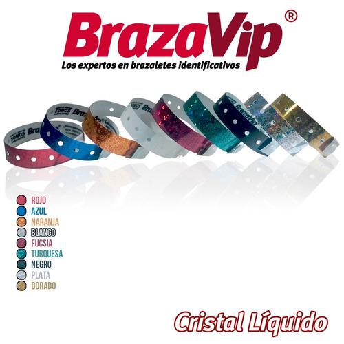 brazaletes de cristal líquido personalizados