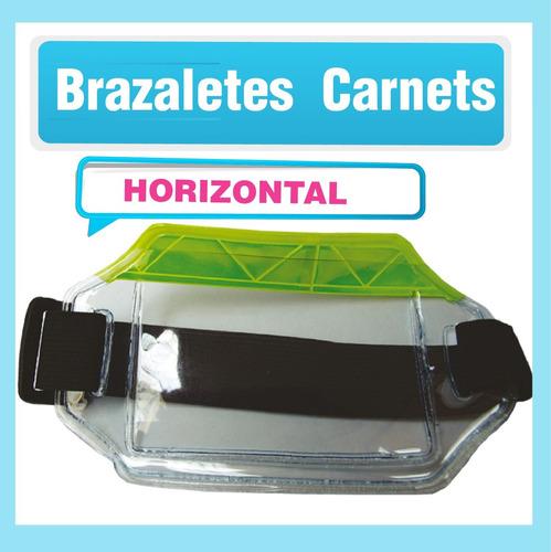 brazaletes reflectivos carnet pvc