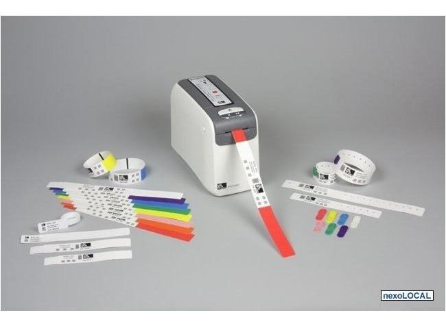 4a6ec340e506 Brazaletes Térmicos Para Impresora Zebra Hc100 Colores