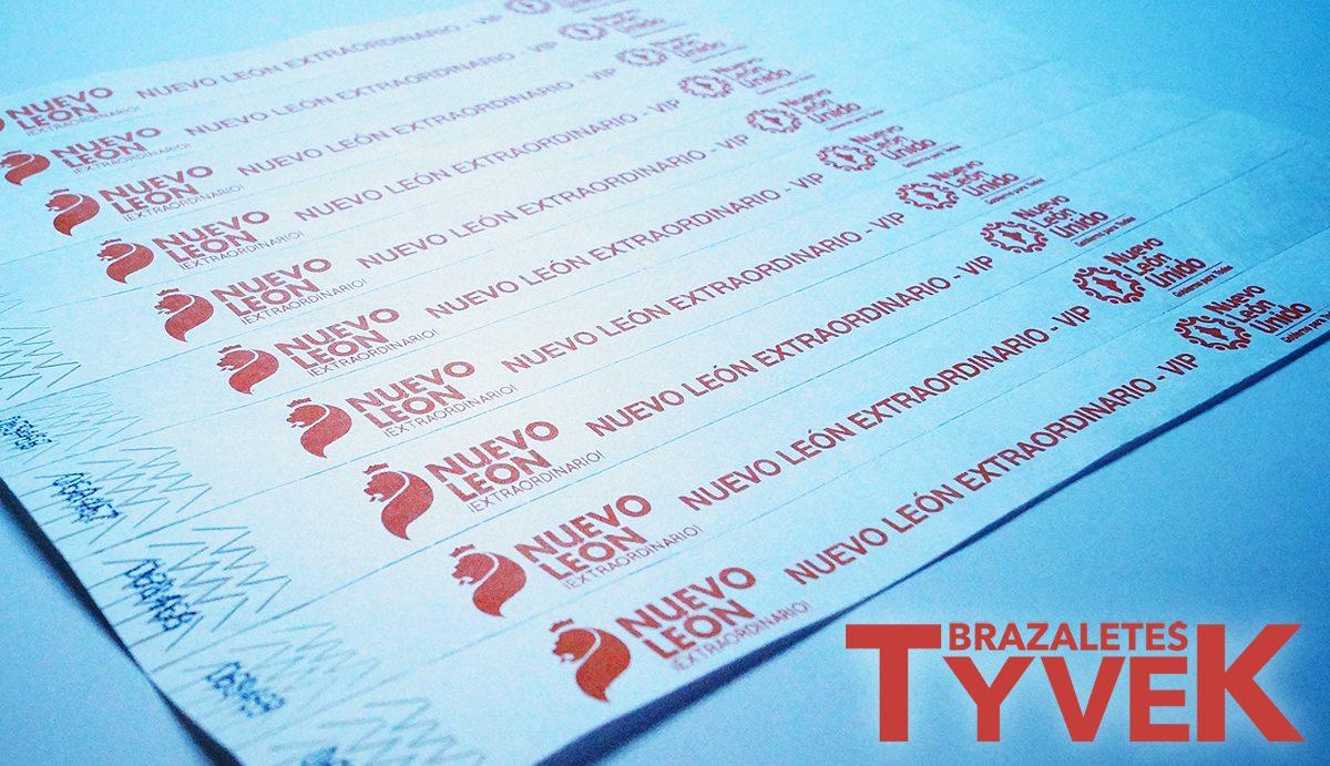 23a3236715f4 Brazaletes Tyvek Para Todo Tipo De Eventos -   80.00 en Mercado Libre