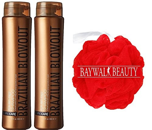 brazilian blowout procare acai anti frizz duo shoo