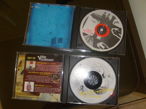 brazilian girls: 2 cds,lote,colección,chill out,electronica,