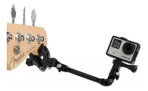 brazo ajustable montaje music jam compatible gopro