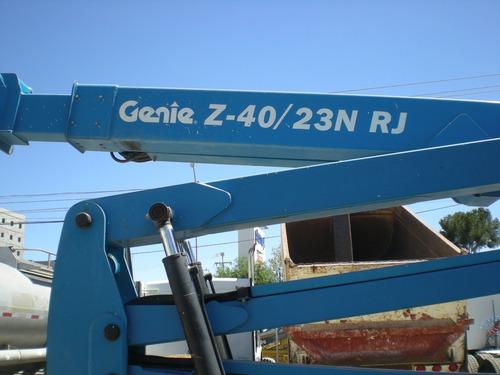 brazo articulado genie z40 electrico 423 hrs recien importad