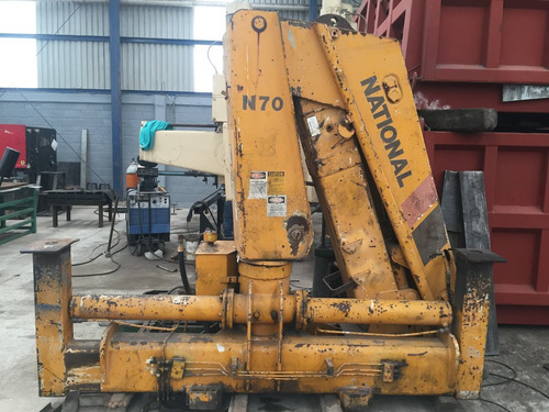 brazo articulado national n70 6 tons.
