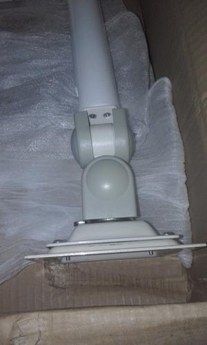 brazo articulado porta pantalla para sillon dental