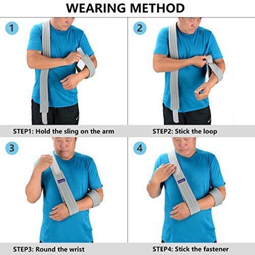 brazo honda inmovilizador de hombro - brazo ajustable cor...