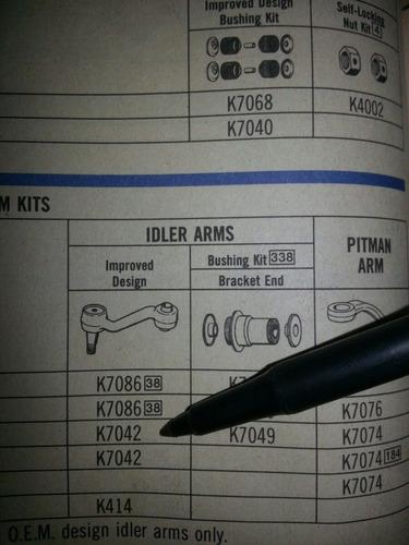 brazo loco dodge dart