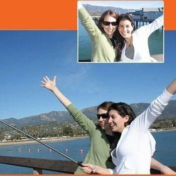 brazo monopod para camara y celular selfie