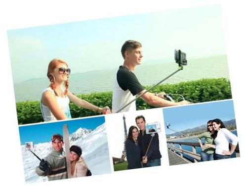 brazo monopodo para celular samsung para selfie x bluetooth