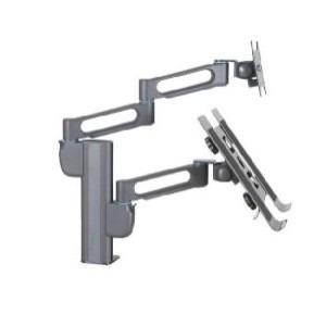brazo para monitor doble o notebook smartfit kensington