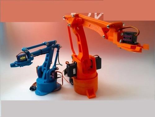 brazo robotico con impresora 3d