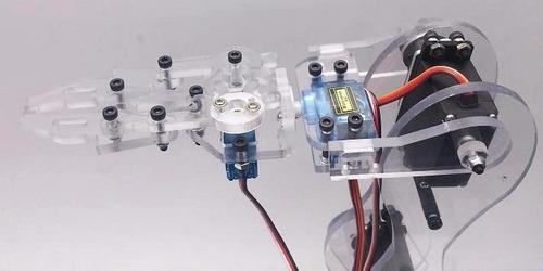 brazo robotico kit  programación arduino