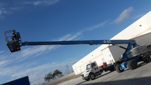 brazo telescopico genie s60 plataforma de elevacion