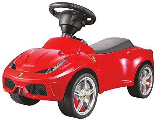 Brc Juguete Mejor Paseo Coches Ferrari F12 Empuje Carro Rojo