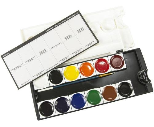 brea reese acuarelas pastillas colores primarios pintar arte