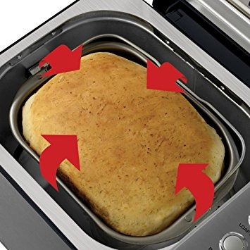 breadman bk1050s 2 lb profesional máquina de hacer pan, ac