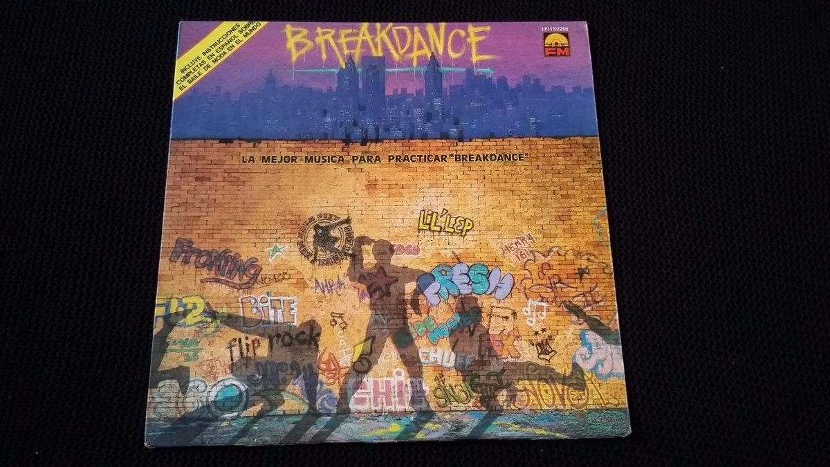 5d4f77baf88f7 Break Dance Lp Vinilo Hip Hop -   29.000 en Mercado Libre