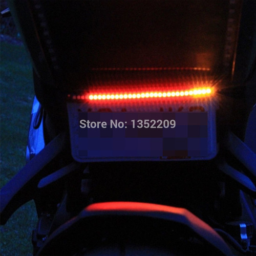 break light 48 led seta lanterna moto reboque carretinha 12v