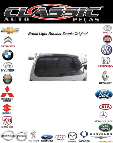 break light renault scenic original