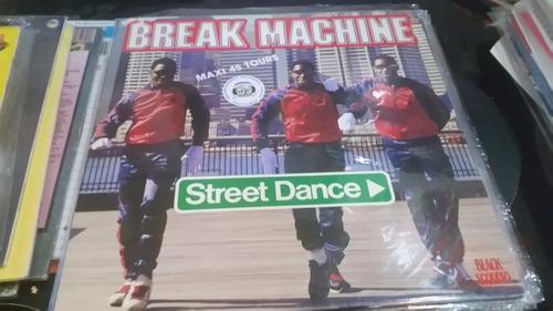 break machine street dance vinilo maxi frances excelente