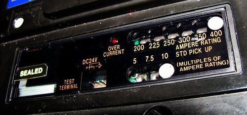 breaker 3 polos marca mitsubishi  in 400 amp, modelo nf400ce