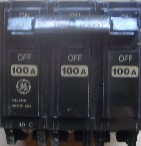 breaker 3x100 thql general electric empotrables