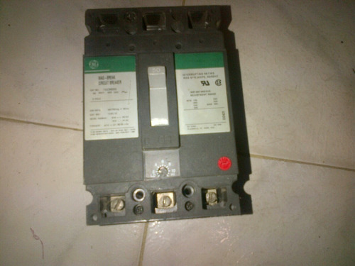 breaker 50 amp industrial general electric