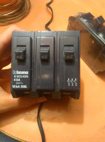 breaker bticino empotrable 40 amp