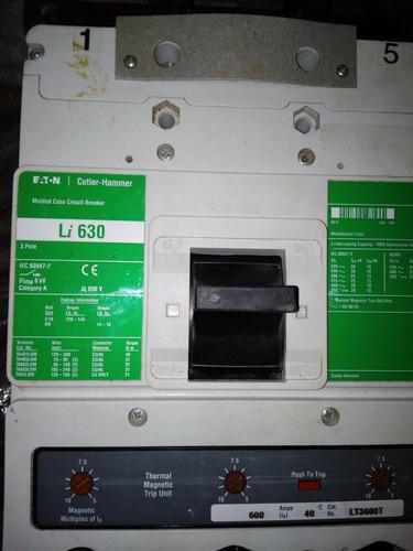breaker clutter hammer li 630 = 600 amp