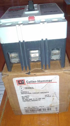 breaker fd 3 x 40  amp cutler hammer (eaton) nuevo