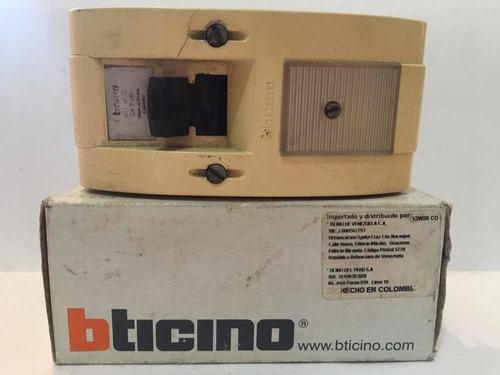 breaker interruptor bticino 602b original 32amp 250v 2polos