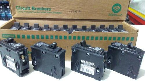 breaker original siemens 1 x 30 a empotrar original