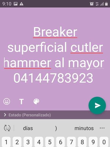 breaker superficial 3x100