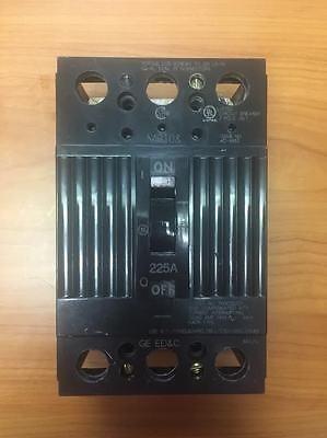 breaker thqd 3x225 amp. original general electric