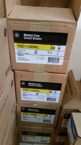 breaker tqc 3 polos 40a general electric superficial