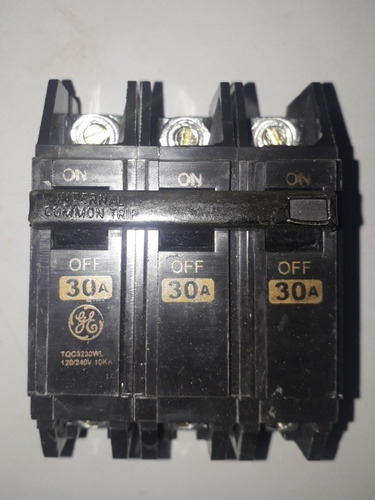 breaker tqc 3x30 general electric