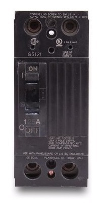 breaker tqd 2x125, 2x150,2x175,2x200 general electric