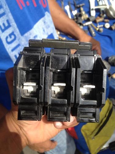 breakers 3x70amp general electric nuevos