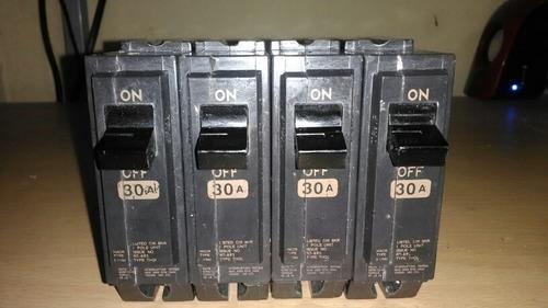 breakers de electricidad de 30amp